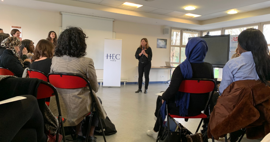 HEC Stand Up session Mars 2020 - Nathalie Riond