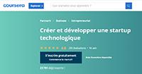 """MOOC """"Créer et développer une start-up technologique""""  - © X – HEC Paris - Coursera"""