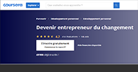 "MOOC ""Devenir entrepreneur du changement"" - ©HEC Paris - Ticket for Change"