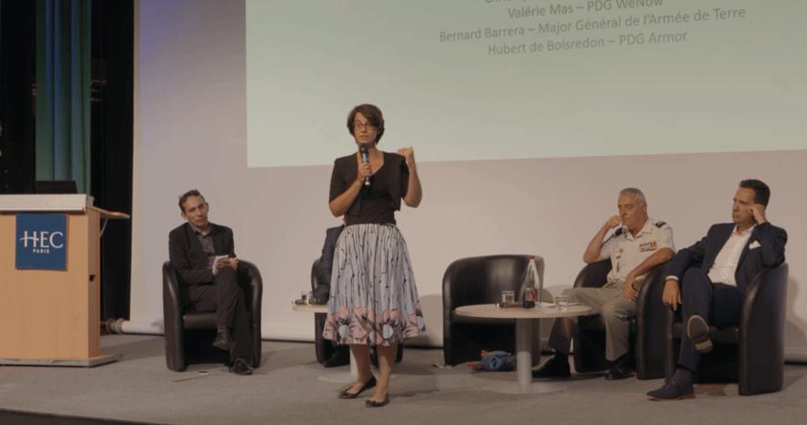 Purposeful Leadership - soirée de cloture - Valérie Mas