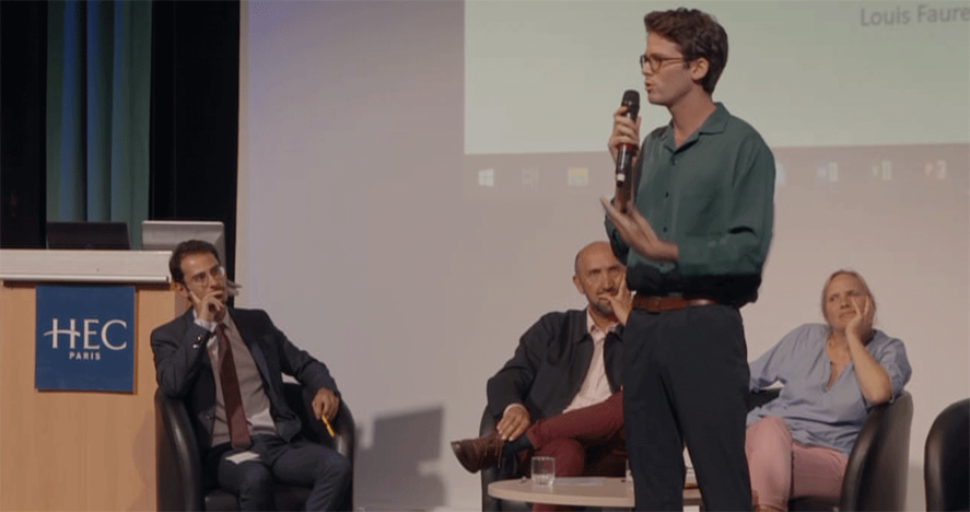 Purposeful Leadership - soirée de cloture - Louis Faure
