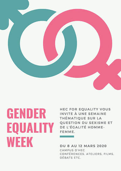 Gender Equality Week 2020 - HEC Paris