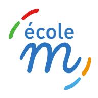 Ecole M logo