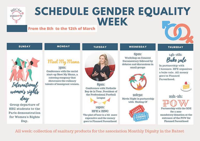 Gender Equality Week 2020 - HEC Paris