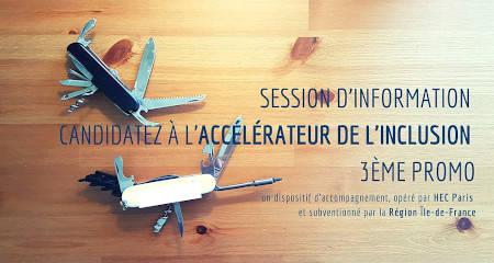 ACCELERATEUR ESS - session d'information promotion 3