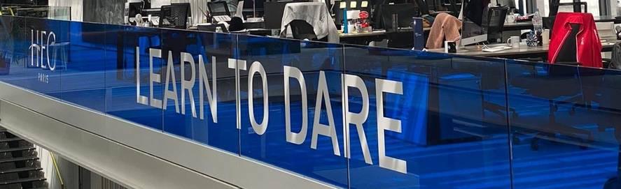 Learn to dare - HEC Incubator