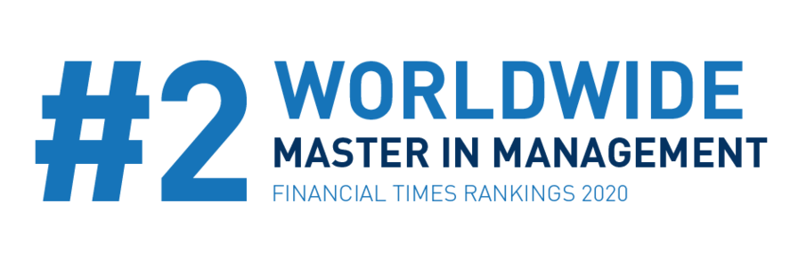 FT ranking 2020 Master in Management