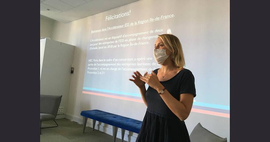 Emma France - Accélérateur ESS - Lancement 3ème promotion - sept. 2020