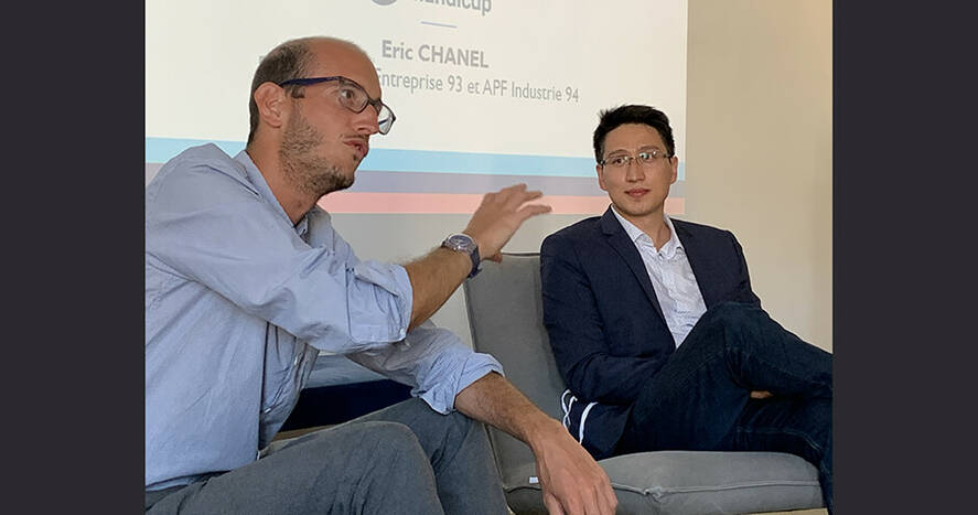 Fabien de Castilla et Eric Chanel - Accélérateur ESS - Lancement 3ème promotion - sept. 2020