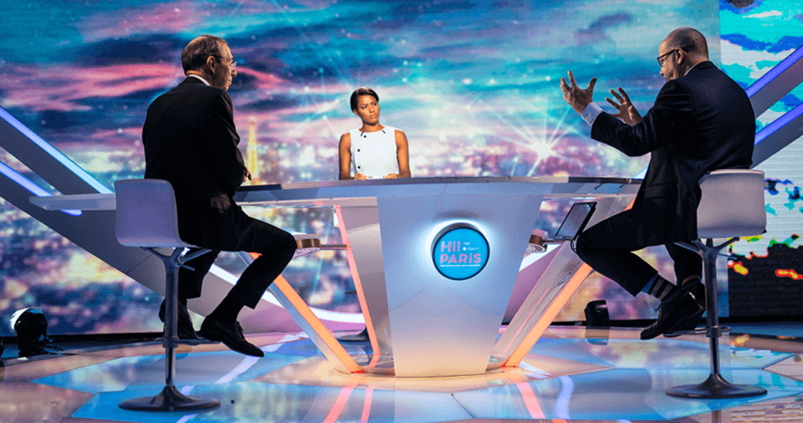 ©Jeremy Barande - Hi! Paris - Launch - Peter Todd, Eric Labaye et Marie-Aline Meliyi