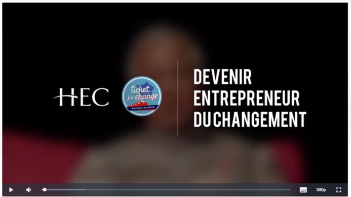 MOOC - devenir entrepreneur du changement