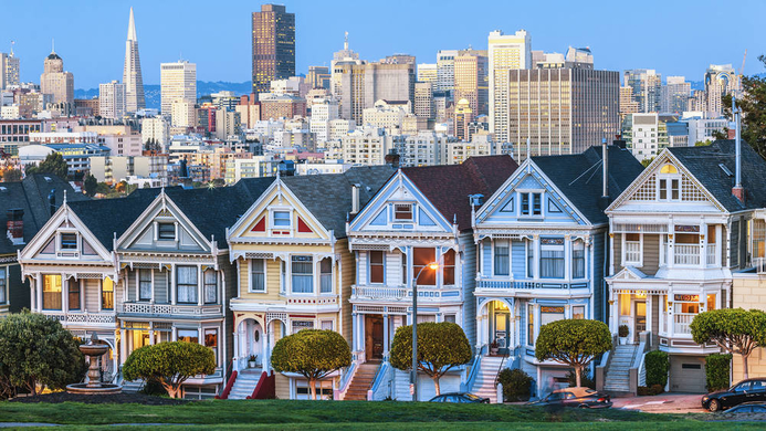 photo: American-houses-San-Francisco
