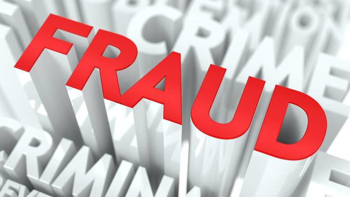 """""""fraud"""" word"""
