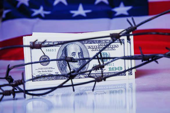US dollar flag ©zwiebackesser vignette