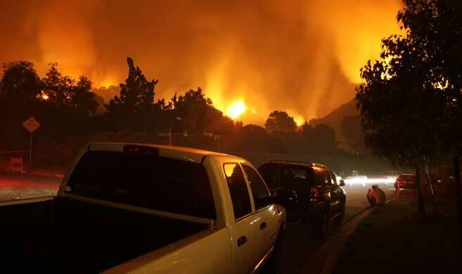 fires in California - swatch+soda - Adobe Stock