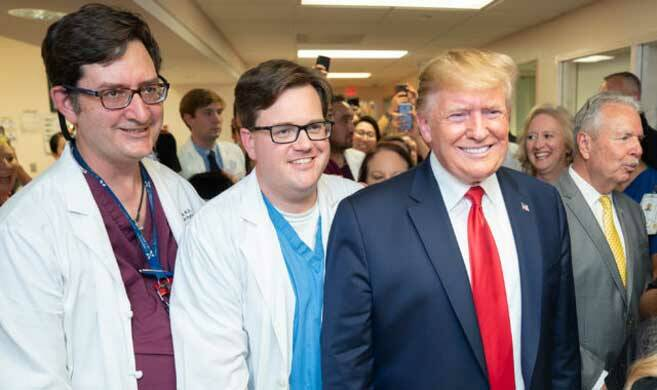 donal trump and doctors - PICRYL