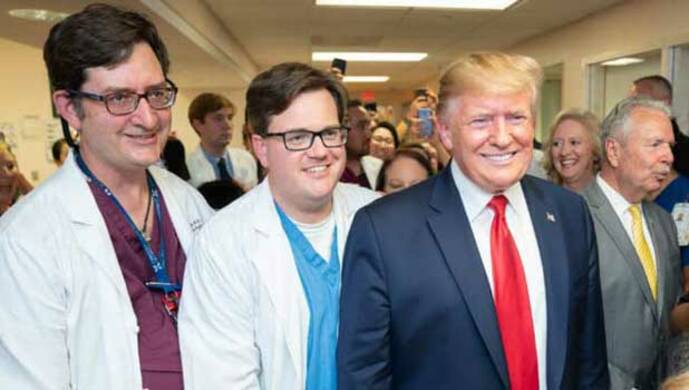donald trump and doctors - vignette - PICRYL