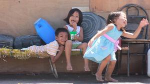 Children in the streets ©Renaud Douci/ONG SOLIDARITÉS INTERNATIONAL