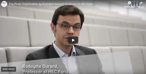 HEC Prof Rodolphe Durand talking
