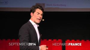 HEC Paris Professor Alemanno talking