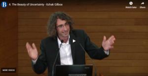 Itzhak Gilboa, Professor at HEC Paris, talking