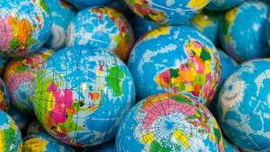 world balls