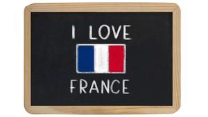 """""""I love France"""""""