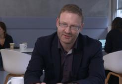HEC Prof John Mawdsley talking