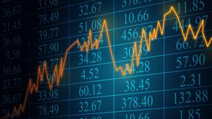 graphic: financial data Sending Signals