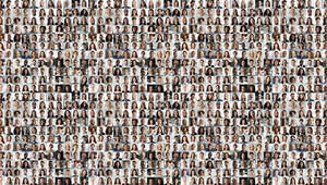 mosaique de personnes - fizkes on Adobe Stock
