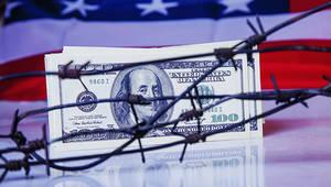 US dollar flag - zwiebackesser - vignette