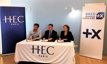 Bourses Prépa HEC pour tous - Partenariat BRED - HEC