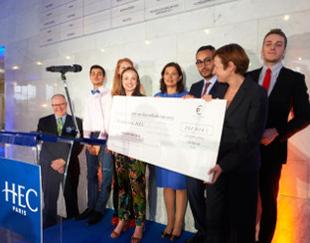 Class Gift HEC Paris 2018 en faveur des bourses sociales