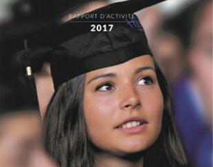 Couverture Rapport Annuel 2017 Fondation HEC