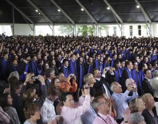 Cérémonie Remise de diplomes HEC Paris