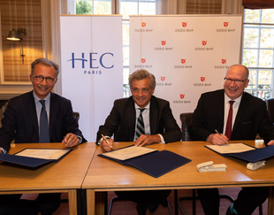 HEC Paris and ODDO BHF signed a Financial Analysis teaching Chair