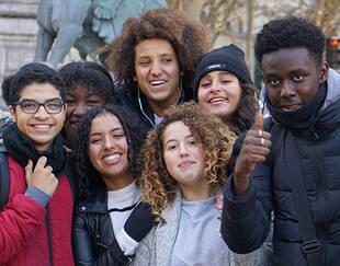 Programme PACE - Sortie Paris - Photo de participants