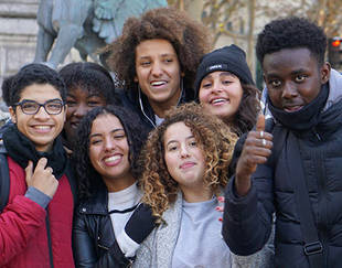 Programme PACE - Sortie Paris - Photo de participants