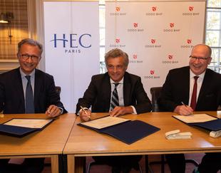 Un acteur financier de référence crée une nouvelle chaire à HEC - HEC Paris septembre 2018
