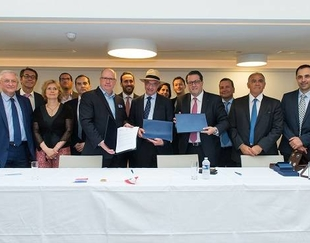 Signing ceremony between HEC Paris, ESA Beyrouth and CCIA of Beirut and Mount-Lebanon on June 21 2017