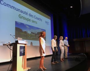 Création association coachs certifiés AICC - HEC Paris