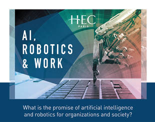 HEC Paris - S&O - Conference AI Robotics & Work - March 12, 2019 - Poster