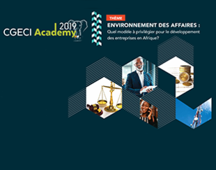 CGECI Academy 2019 - Abidjan