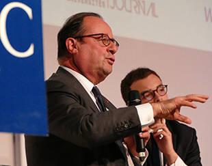 François Hollande - Conférence du 3 déc. 2019 - HEC Paris