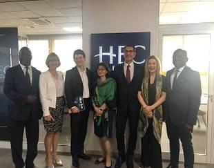 Délégation HEC Paris (bureau Afrique, HEC Alumni, DI)