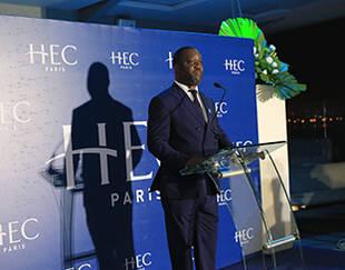Discours Dadouda Coulibaly gala HEC Alumni Abidjan jan2020
