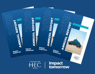 Annual report HEC Foundation 2019 vignette