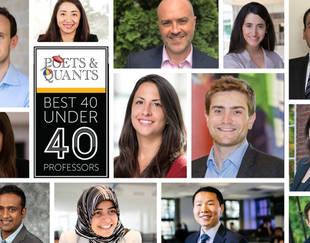 HEC Paris PhD -  Poets and Quants professors 40 under 40