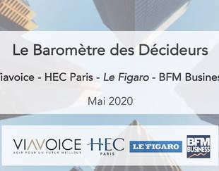 Baromètre des Décideurs Viavoice - HEC Paris - BFM Business