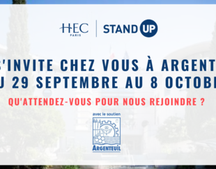 HEC STAND UP - Appel à candidature Argenteuil 2020